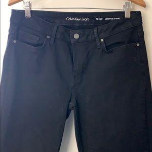 Calvin Klein Ultimate Skinny Black Jeans